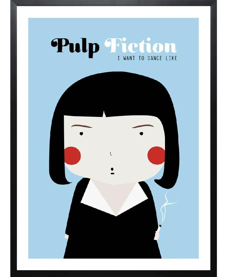 Little Pulp Fiction VON Ni�asilla now on JUNIQE!