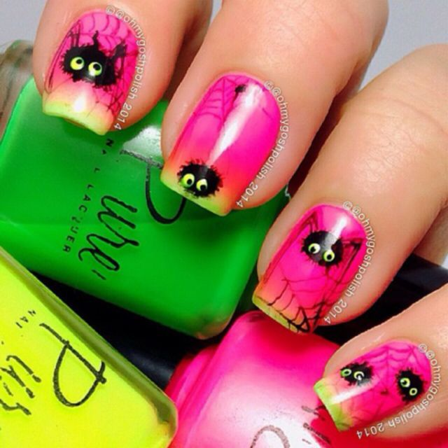 24 best Halloween Nails images on Pinterest | Halloween nails ...