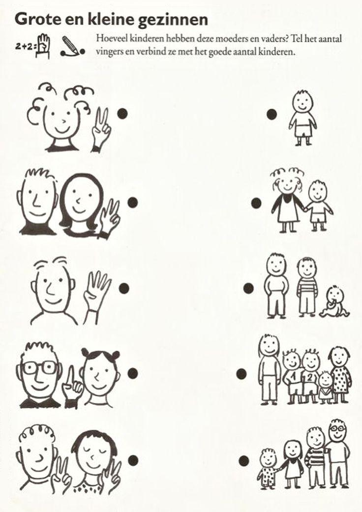 Разнообразные математические задания. Семья
