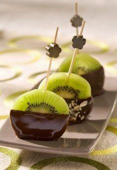 Kiwi and chocolate