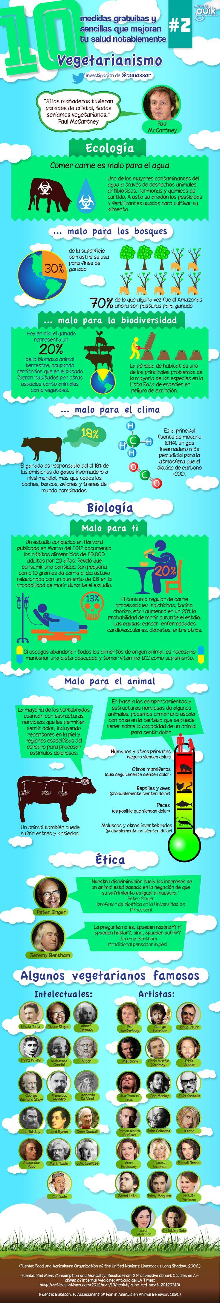 EcoSiglos: Infografía: El impacto ecológico del consumo de carne