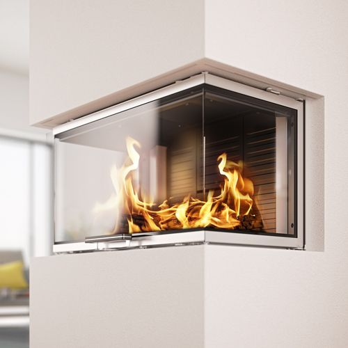 Rais Visio3 3Sided Wood Burning Built-In Stove