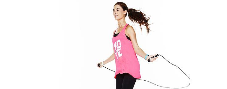 Cardio training, resistenza, rafforzamento muscolare, allungamento delle gambe : la corda per saltare consente un allenamento completo che tu sia principiente o esperto !