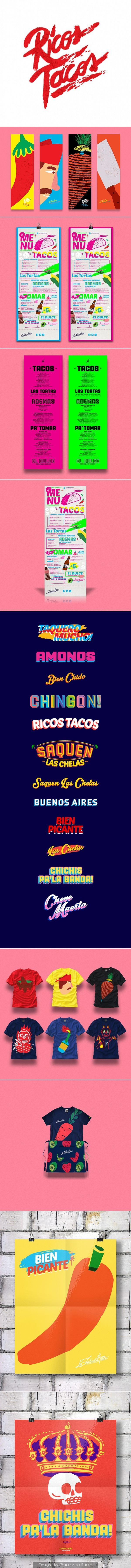 La Fábrica del Taco identity by Bosque