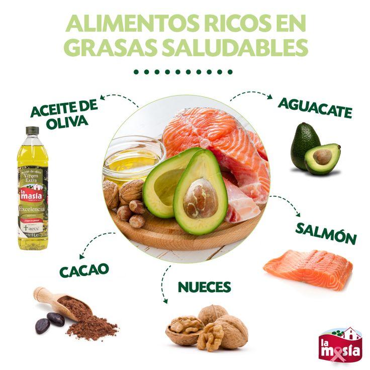 Hay alimentos que contienen grasas saludables y que no pueden faltar en nuestra #dieta. Entra en nuestro blog para conocer recetas en las que integrarlos. #trucosalud #salud
