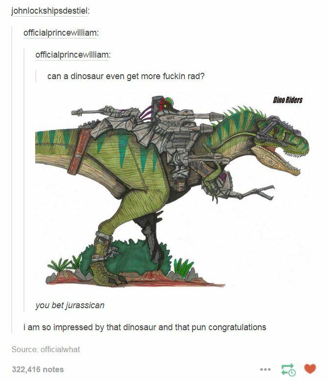 The pun though
