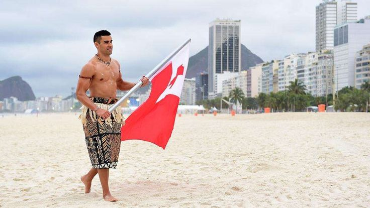Tonga flag-bearer Pita Taufatofua making the most of unexpected Olympic fame:  August 20, 2016  -     rio olympics pita taufatofua taekwondo tonga flag bearer