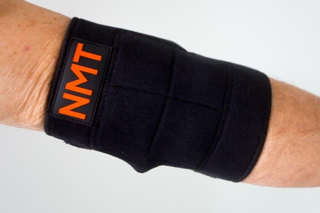 #JointPain #NMT #ElbowBraceTendinitis Relief #PhysicalTherapy #NewNatural Tourmaline Remedy for Tennis Elbow and Active Ankle Adjustable black device for #Men & #Women. #NMT #NeoMedinaTech