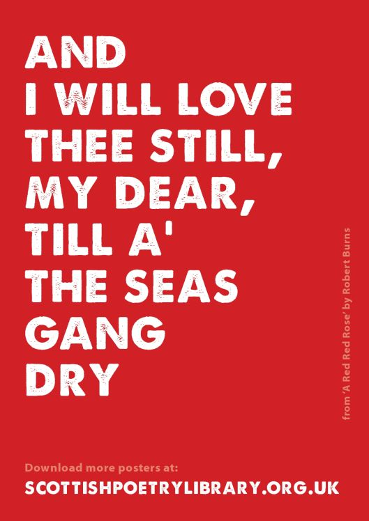 SPL Poster Seas Gang Dry Robert Burns