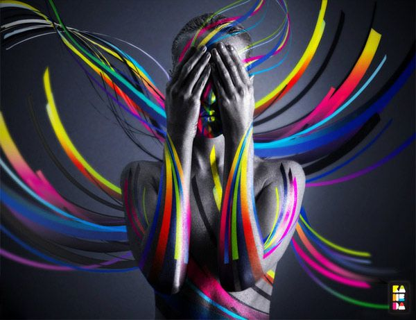 United Colors by Alessandro Pautasso, via Behance