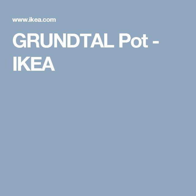 GRUNDTAL Pot - IKEA