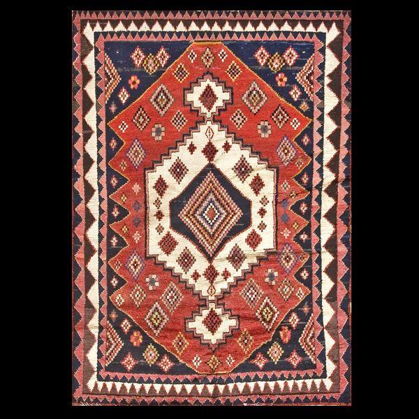 Gabbeh Rug 19194 Persian Tribal 5 0 X 7 3