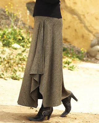 Last year on Stitcher's Guild, someone mentioned this great skirt on Territory Ahead , called the Cascade skirt: This skirt is similar to th...