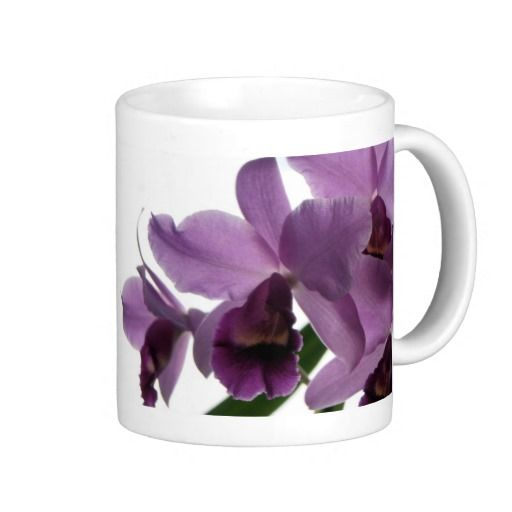 Orchids/ Mothers Day--Birthday Gift Mug