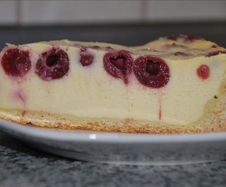 Rezept Variation von Kokos-Kirsch-Käsekuchen aus Finessen 2/2015 von Petme - Rezept der Kategorie Backen süß