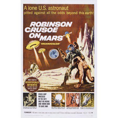 Robinson Crusoe On Mars U Canvas Art - (24 x 36)