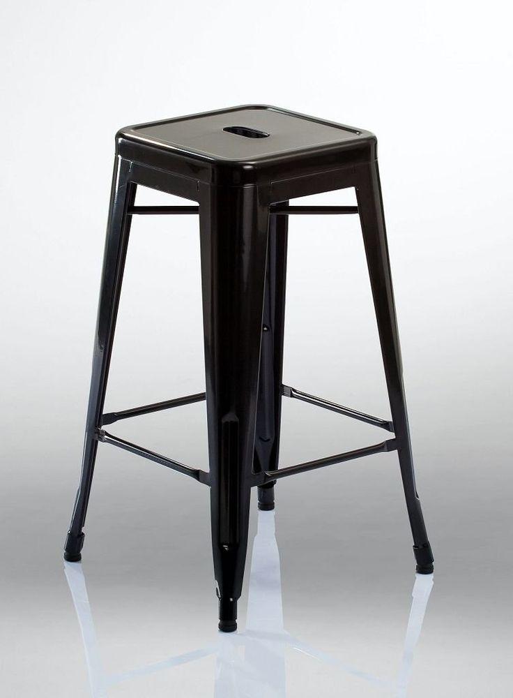 Sitzhocker Duhome Barhocker Aus Metall Hocker Stapelbar In Schwarz. Preis  Ab Euro Jetzt Meist Versandkostenfrei Kaufen!