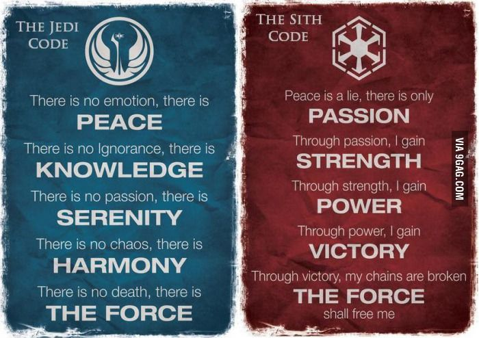 Which one do you abide with? seems I'm more of a sith....lol come to the dark side