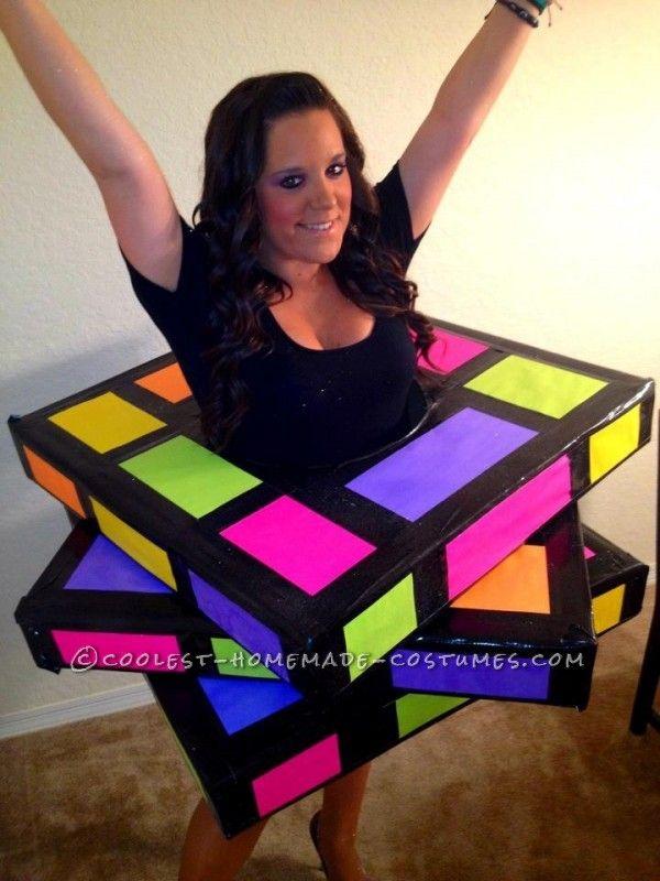 Coolest Rubiks Cube Homemade Halloween Costume