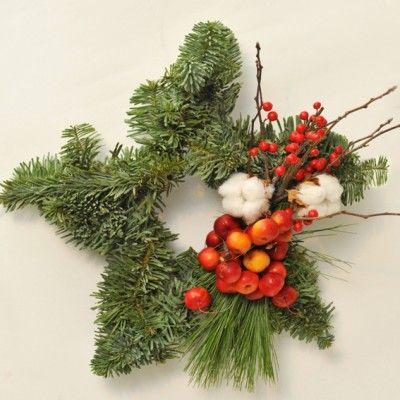 YaU Concept _ YaU flowers _ Secret santa 2014 _ christmas wreathsteauacraciunului+yau+secretsanta2014 #christmas #christmasdecor #holiday #candle #christmascandle #yauconcept #yau #christmasdecoration #decoration #pine #ilex #wreath #christmaswreath #star