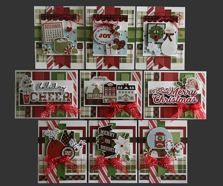 Christmas Cheer Card Kit | Kim's Card Kits | Handmade Greeting Card Kit