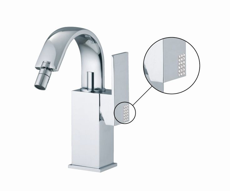 Brick Chic Single Handle Horizontal Spray Bidet Faucet