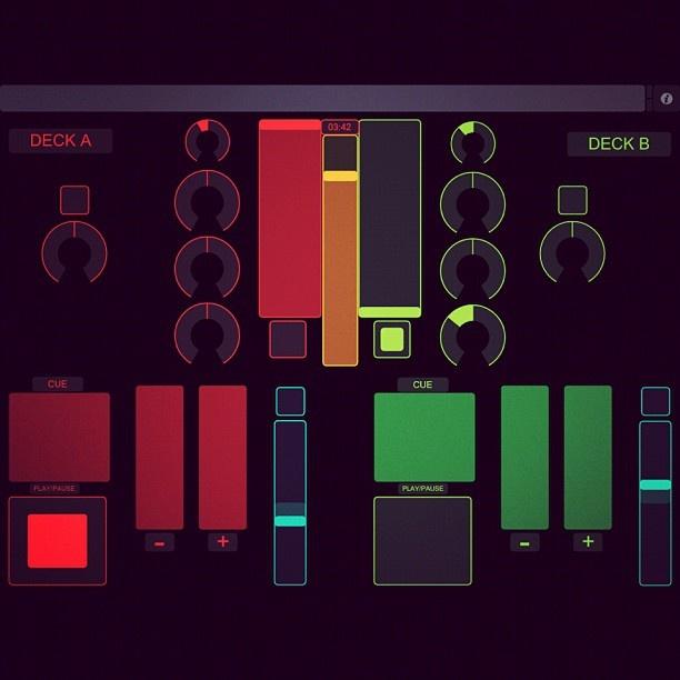 #TouchOSC #App #Wireless #MIDI #DJ #Apple