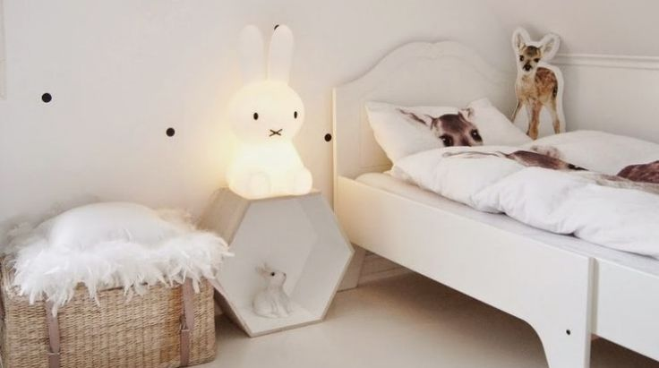 The Miffy night light brings both light and smiles.