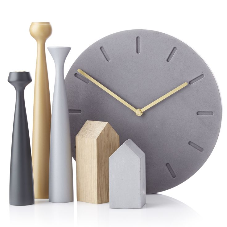 Blossom Candleholders, Arch:You houses, Watch:Out concrete clocks.  Danish Design.