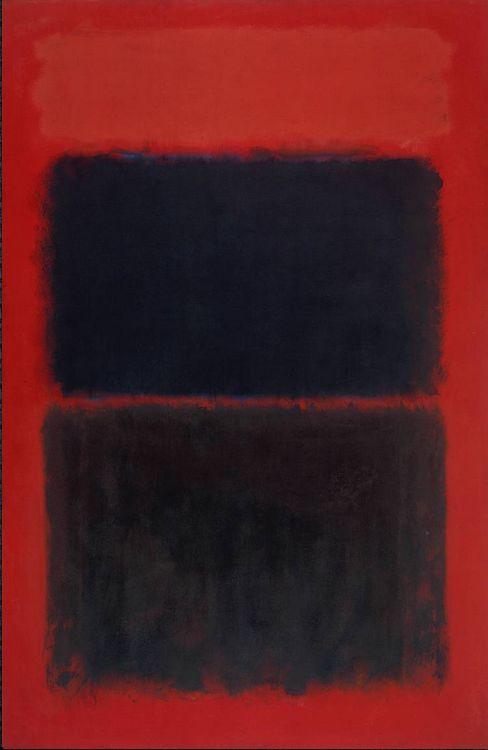 Rothko ,  Light Red Over Black   (1957)