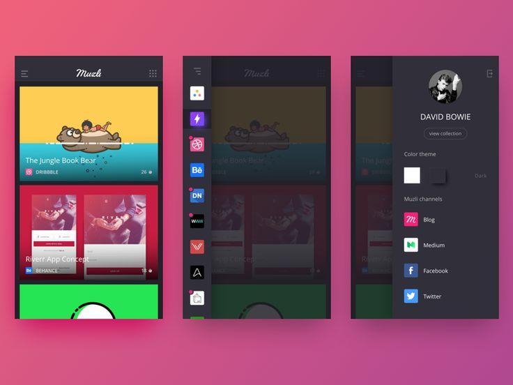 Community design concepts for Muzli — Muzli -Design Inspiration