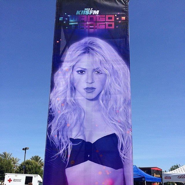 LAS CADERAS TABASCO: Imagen: Shakira en Wango Tango