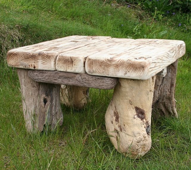 driftwood coffee table drift wood side table low end tablegarden table