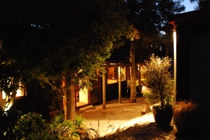 Evening Garden Lighting