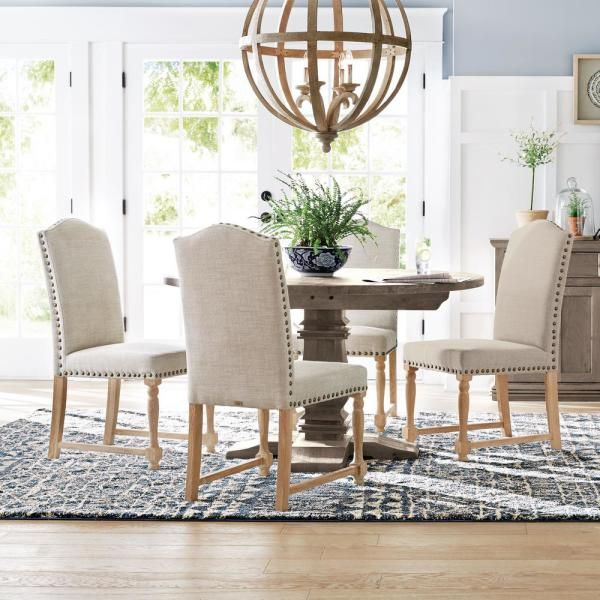 Home Decorators Collection Aldridge Antique Grey Round Dining Table Nb024ag The Home Depot Round Dining Table Grey Round Dining Table Brown Dining Table