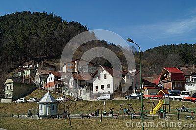 Schei district houses, Brasov, Romania, Transylvania