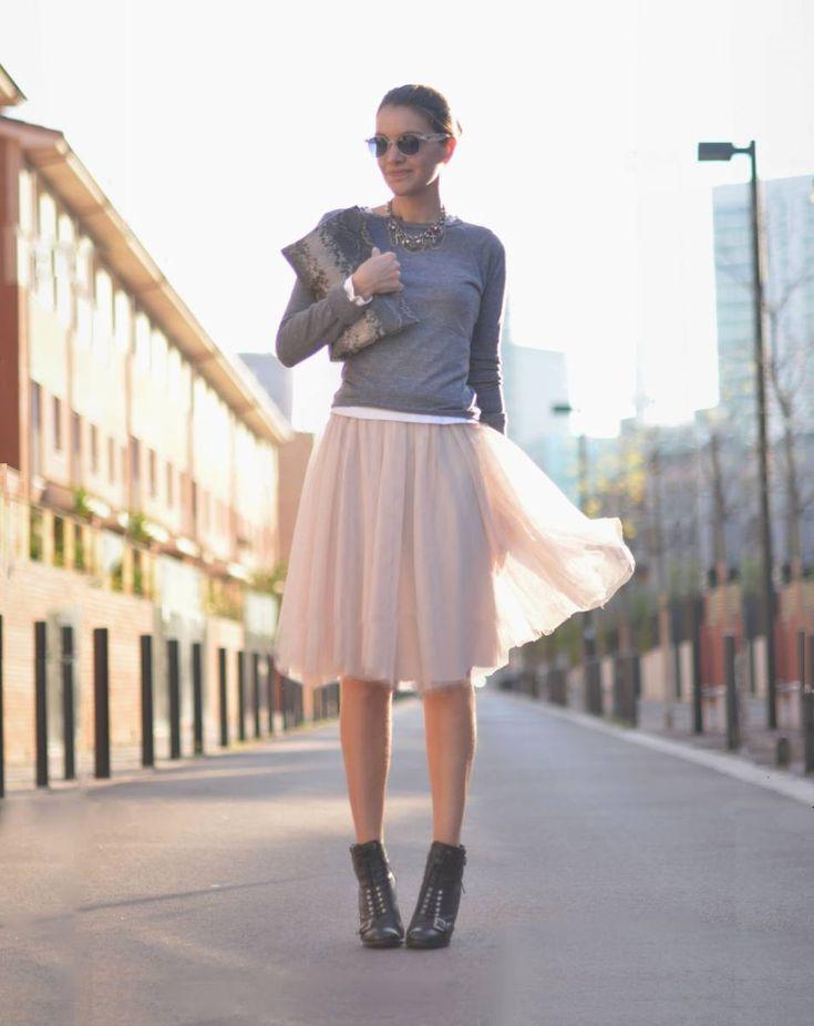 Ballerina chic: Skirt, Fashion, De Term, Skirts, Street Style, Outfit, Closet