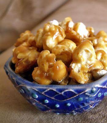 Peanut Butter Caramel Corn