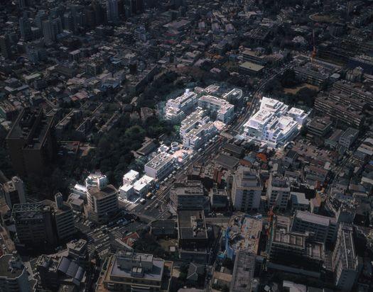 Hillside Terraces. Tokyo, Japan 1969-.