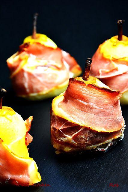 R'n'G Kitchen: Zapiekane gruszki z serem gorgonzola