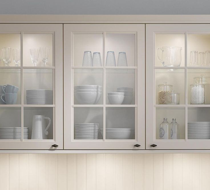 Kitchen Glass Wall Units