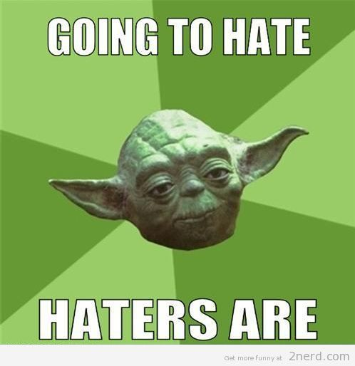 yoda haters meme
