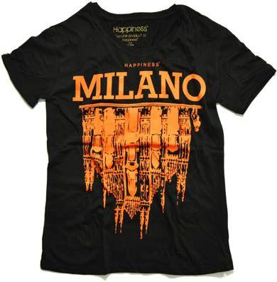 Happiness T-shirt Milano #mfw #milanfashionweek #happiness #milano