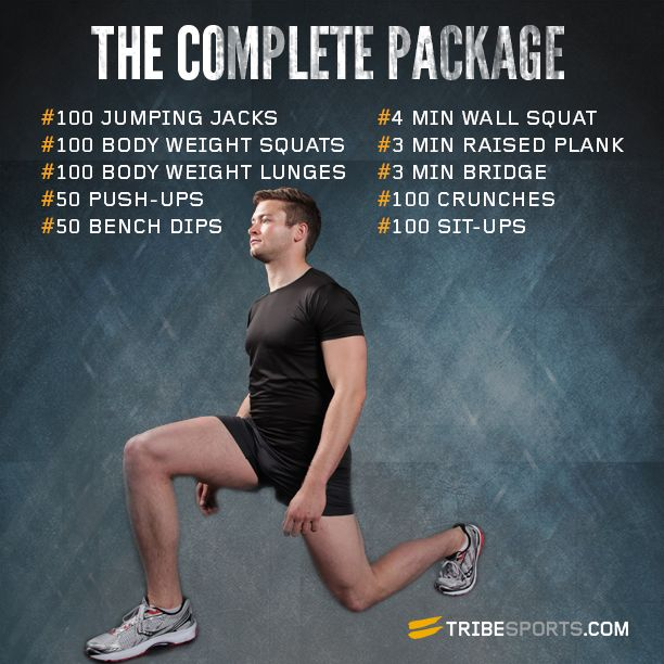 The Complete Package via @Tribesports #fitness #fit #workout #exercise #lunges #abs #squats