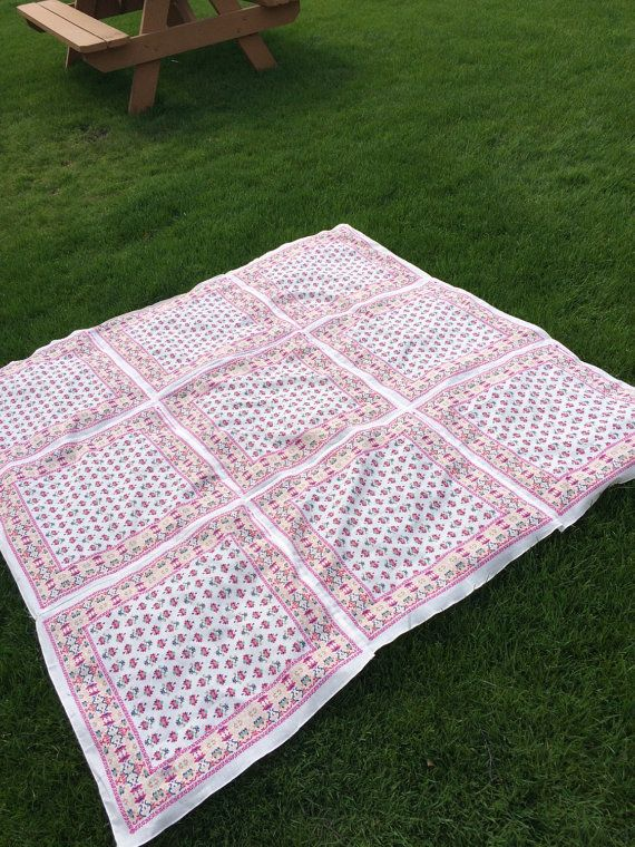 Bandana Blanket The Kelly Blanket by TheLuckyPenny13 on Etsy
