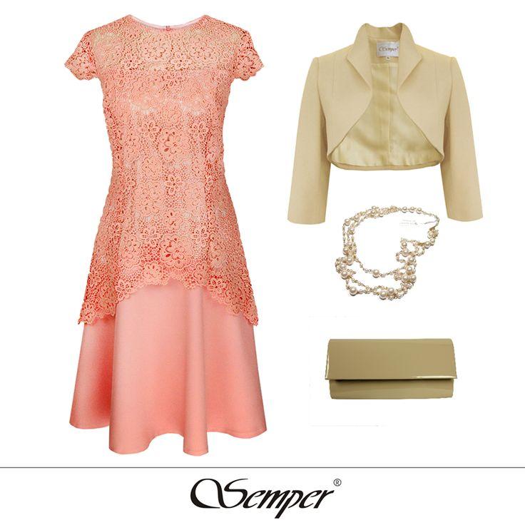Semper sukienka Bena #shoponline #fashion #dress #elegantclothing #outfit #fashion #springfashion #wedding