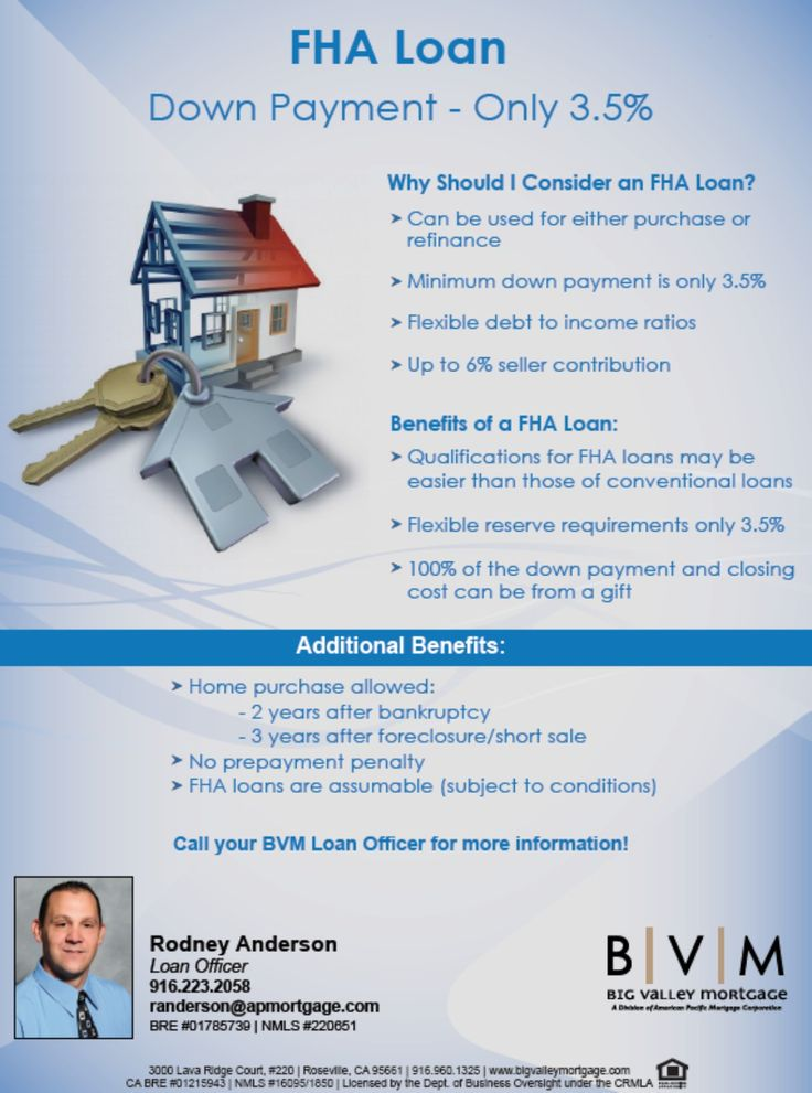 Kaye Swain Roseville real estate agent shares FHA Loan info via Rodney Anderson Loan Officer in Roseville CA