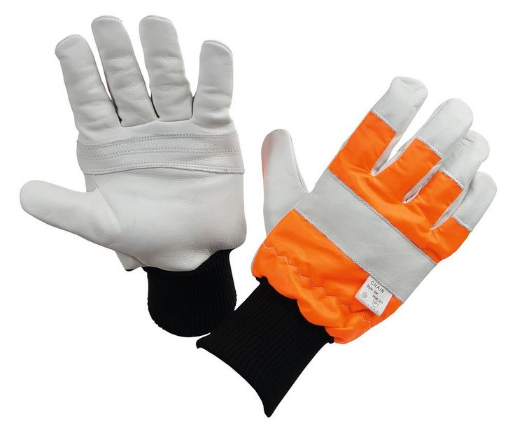 Kerbl 297525 Gloves for Use with Electric Saws for Loggers / Protected Left Hand / Size 11 / XXL