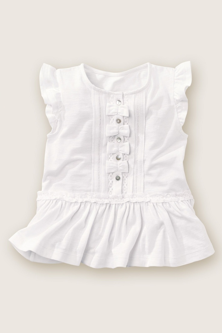 Bow Peplum Top (3mths-6yrs) from the Next UK online shop