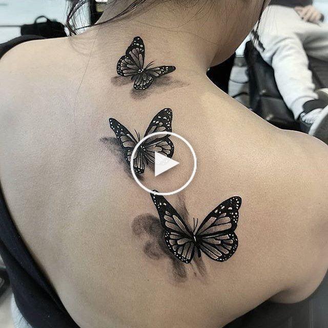 45++ Tatouage papillon epaule femme inspirations